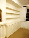 Shoreditch fitted made to measure floating shelves